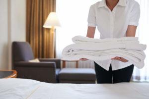 Bí quyết giặt khăn tắm khách sạn của các chuyên gia
