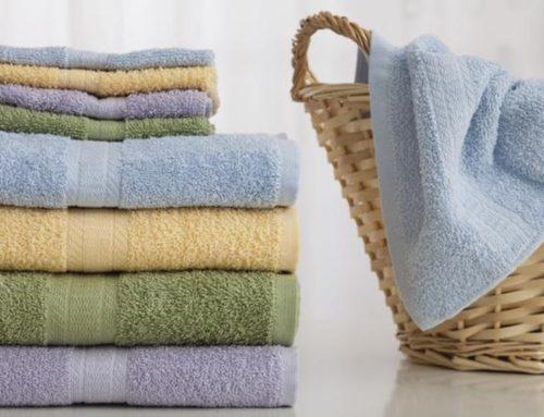 Tẩy trắng và khử mùi khăn bông tắm khách sạn đơn giản hiệu quả