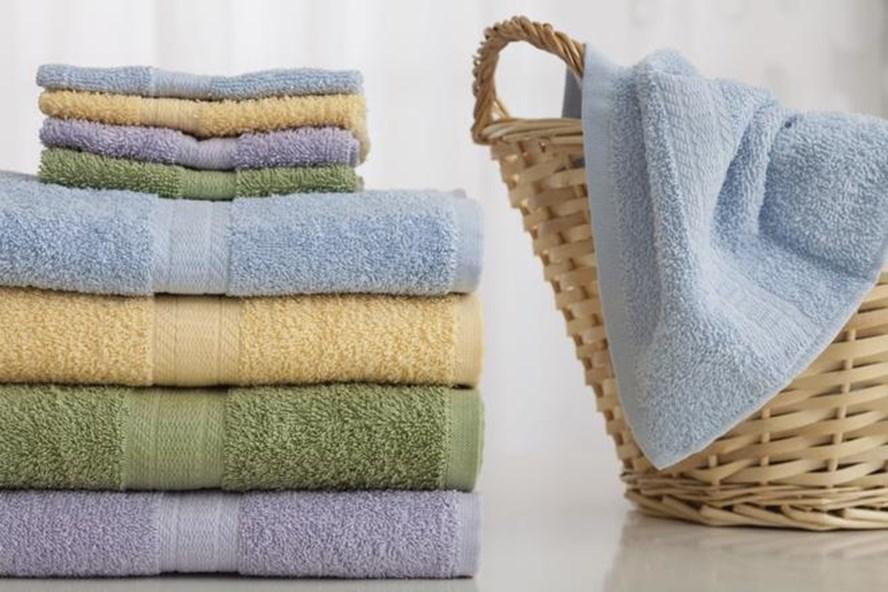 Giặt khăn tắm sạch trước khi đưa vào sử dụng