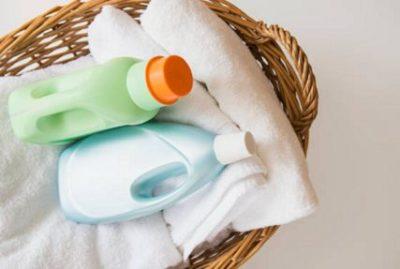 Không sử dụng nhiều hóa chất tẩy rửa trong quá trình giặt khăn