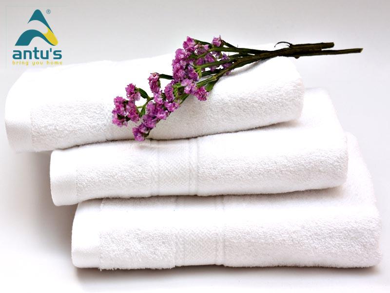 Khăn khách sạn Antus- chất lượng đảm bảo cho người tiêu dùng